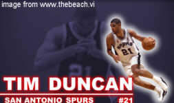Tim Duncan of St. Thomas