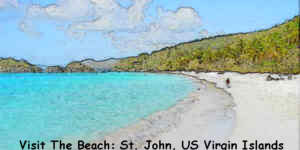 Visit the Beach, US Virgin Islands